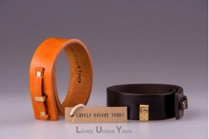 Шкіряні браслети LUY N.1 один оберт