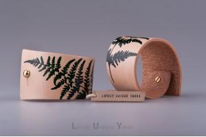 Шкіряні браслети LUY N9 Fern
